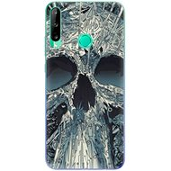 iSaprio Abstract Skull for Huawei P40 Lite E - Mobile Case