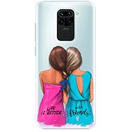 iSaprio Best Friends for Xiaomi Redmi Note 9 - Mobile Case