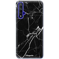 iSaprio Black Marble for Honor 20 - Mobile Case