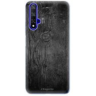 iSaprio Black Wood for Honor 20 - Mobile Case