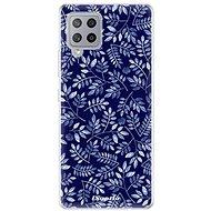 iSaprio Blue Leaves for Samsung Galaxy A42 - Mobile Case