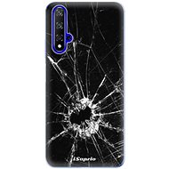 iSaprio Broken Glass 10 for Honor 20 - Mobile Case