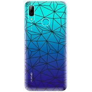 iSaprio Abstract Triangles for Huawei P Smart 2019 - Mobile Case