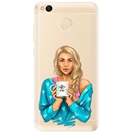 iSaprio Coffe Now - Blond for Xiaomi Redmi 4X - Mobile Case