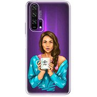 iSaprio Coffee Now - Brunette for Honor 20 Pro - Mobile Case