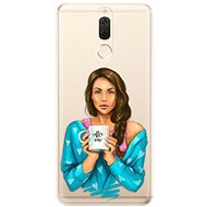 iSaprio Coffee Now - Brunette for Huawei Mate 10 Lite - Mobile Case
