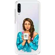 iSaprio Coffe Now - Brunette for Samsung Galaxy A30s - Mobile Case