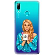 iSaprio Coffee Now - Redhead for Huawei P Smart 2019 - Mobile Case