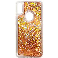 iWill Glitter Liquid Star Case for HUAWEI Y6 (2019), Rose Gold - Mobile Case