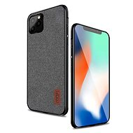 MoFi Fabric Back Cover for iPhone 11 Pro Max Grey - Mobile Case