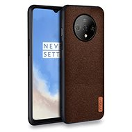 MoFi Fabric Back Cover for OnePlus 7T Brown - Mobile Case