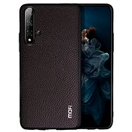 MoFi Litchi PU Leather Case for Honor 20 Pro Brown - Mobile Case