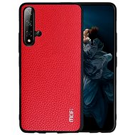 MoFi Litchi PU Leather Case Honor 20 Pro Red - Mobile Case