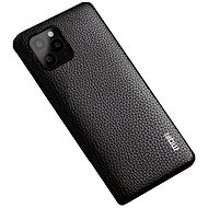 MoFi Litchi PU Leather Case for iPhone 11 Pro Brown - Mobile Case