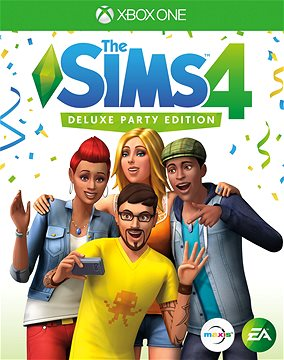 The SIMS 4: Deluxe Party Edition - Xbox One Digital