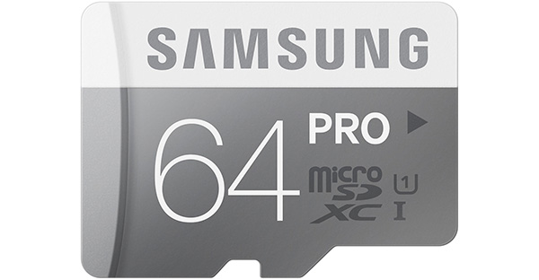 Memory cards from Samsung