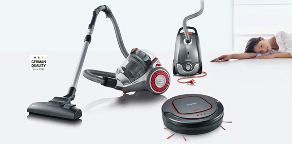 Powerful and Compact Vacuum Cleaners from SEVERIN