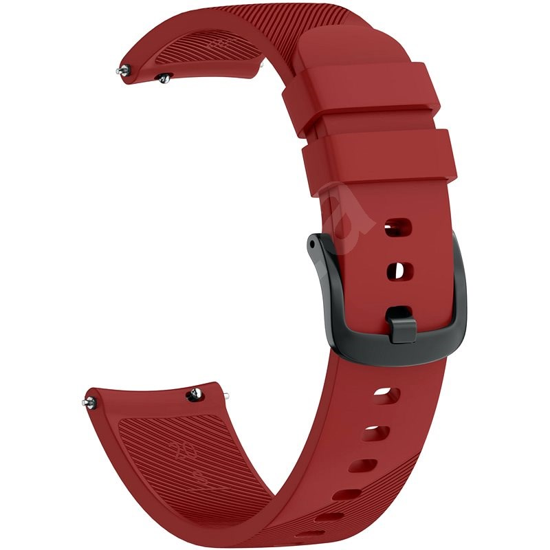 Eternico Essential band universal Quick Release 20mm Red - Watch Band