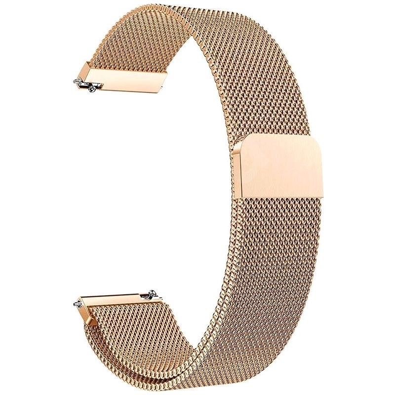 Eternico Elegance Milanese universal Quick Release 20mm rose gold - Watch Band