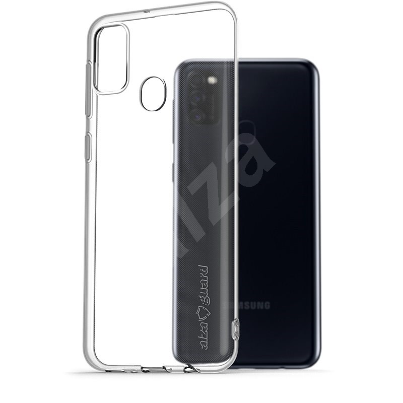 AlzaGuard Crystal Clear TPU Case for Samsung Galaxy M21 - Mobile Case