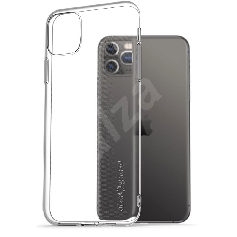 AlzaGuard for iPhone 11 Pro Max, Clear - Mobile Case