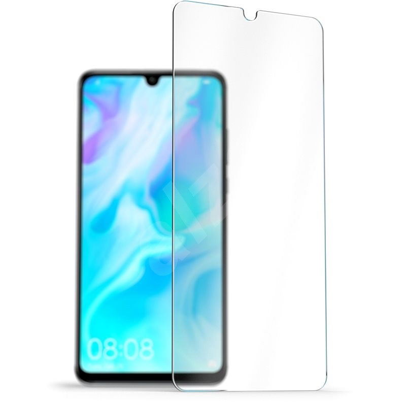 AlzaGuard 2.5D Case Friendly Glass Protector for Huawei P30 Lite - Glass Protector