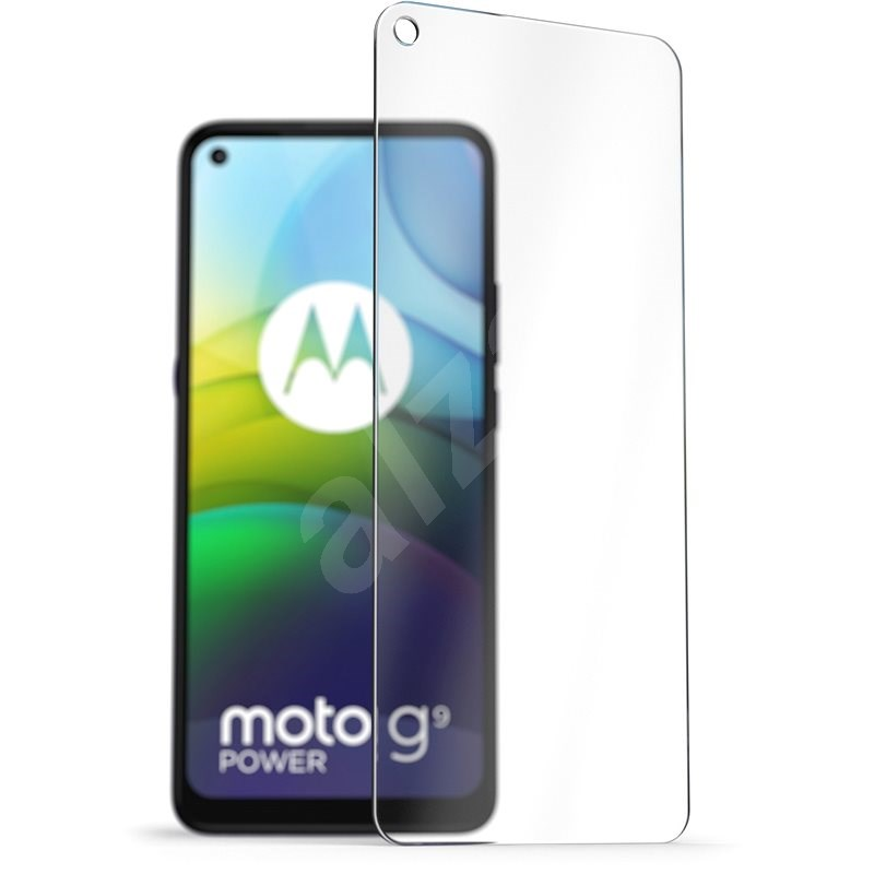 AlzaGuard 2.5D Case Friendly Glass Protector for Motorola Moto G9 Power - Glass Protector