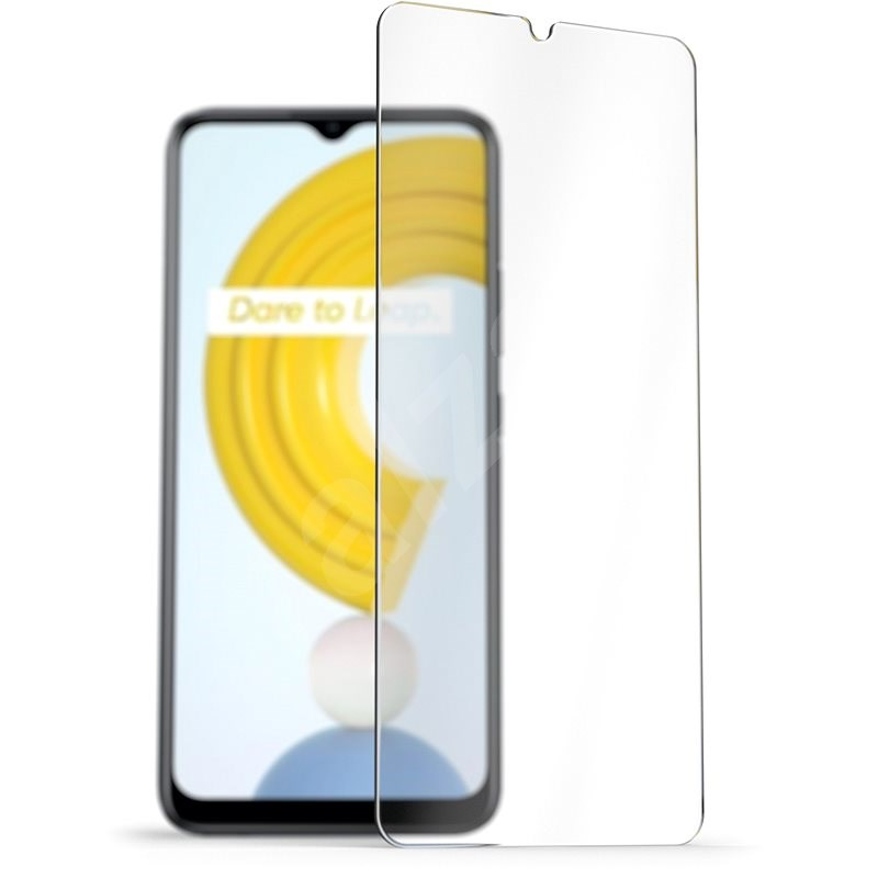 AlzaGuard 2.5D Case Friendly Glass Protector for Realme C21 - Glass Protector