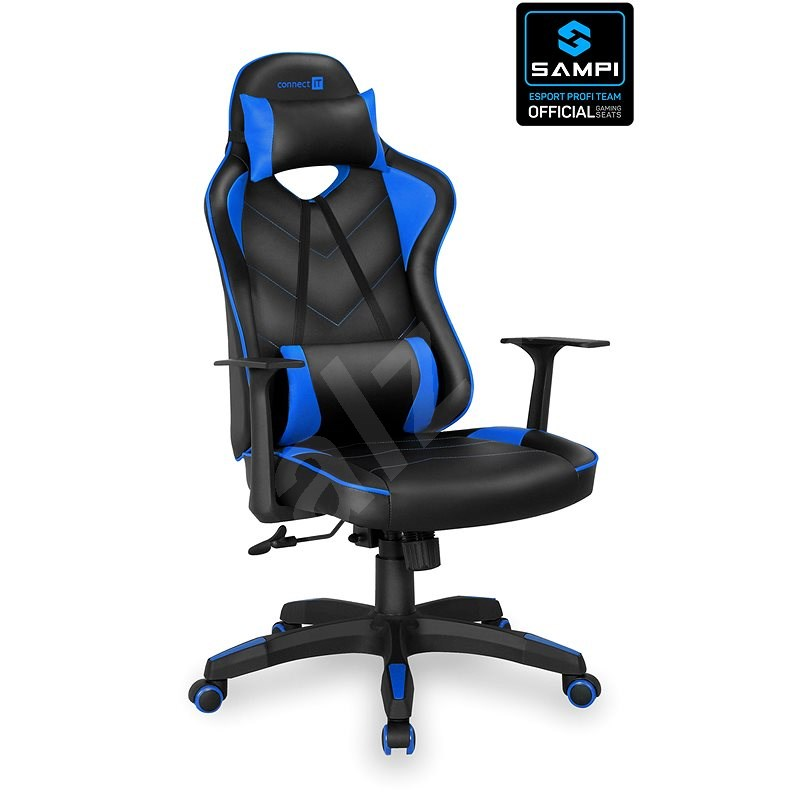 CONNECT IT LeMans Pro CGC-0700-BL, Blue - Gaming Chair