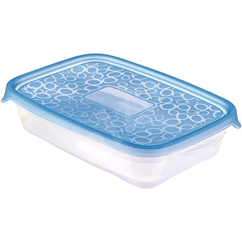 CURVER TAKE AWAY set 4x 1l, blue lid - Food Container Set