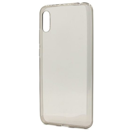 Epico Ronny Gloss Case for Huawei Y6 (2019) - transparent black - Mobile Case