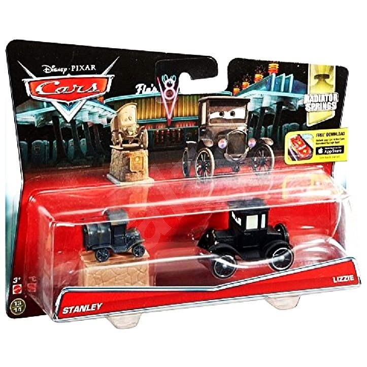 Mattel Cars 2 - Collection of Stanley and Lizzie - Toy Vehicle