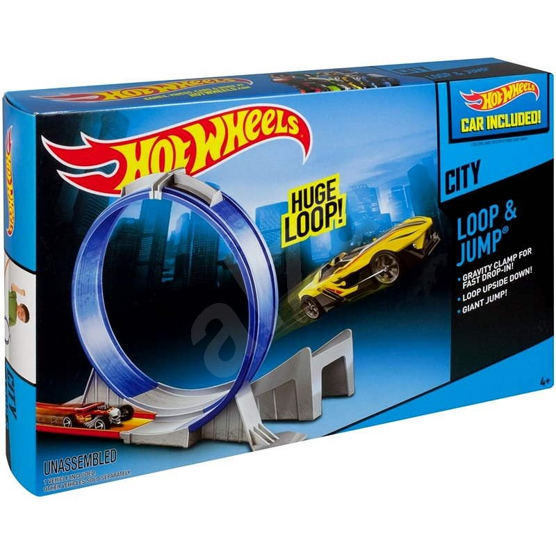 Hot Wheels - Jack and jump  - Game Set