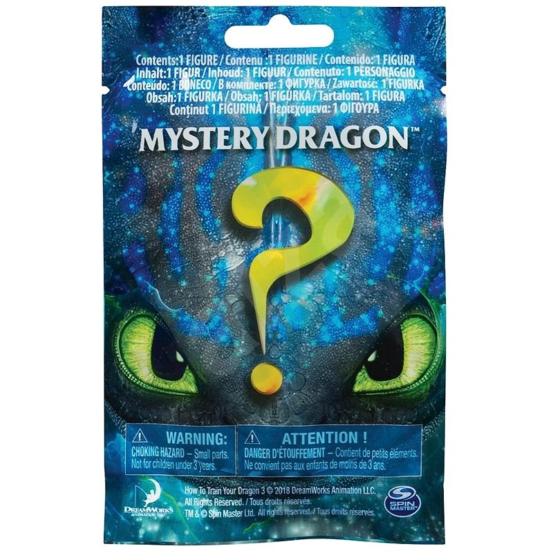 Dragons 3 Collector Figurines in a Bag - Figure