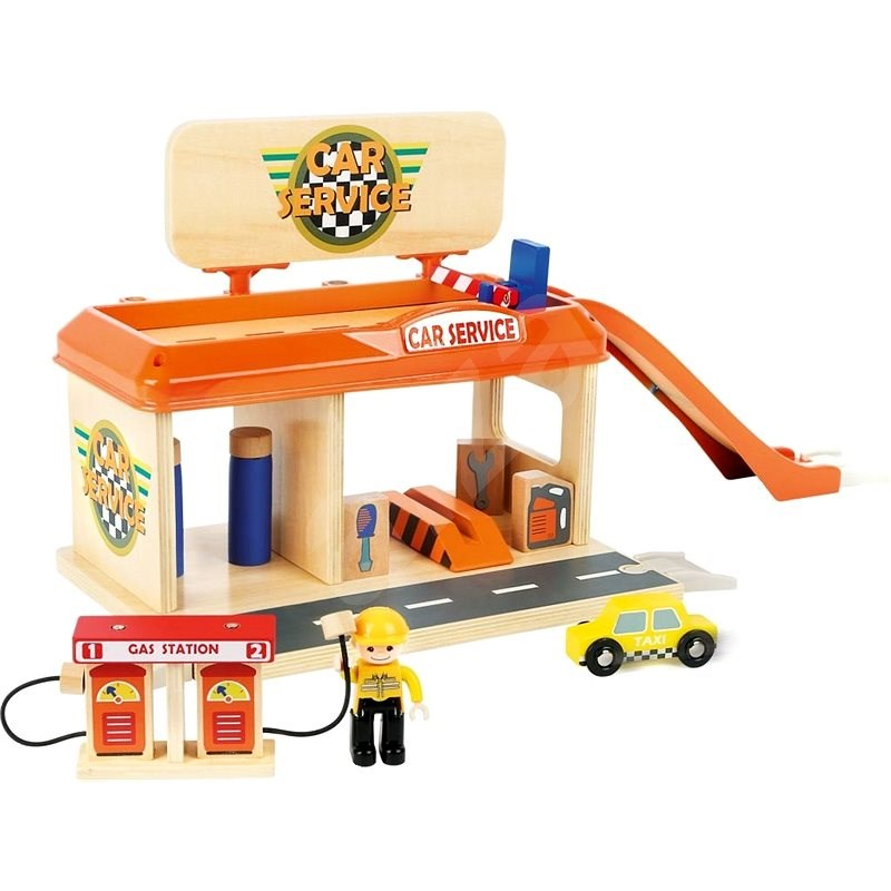 Small Foot Garage and Petrol Stations with Accessories - Rail Set Accessory