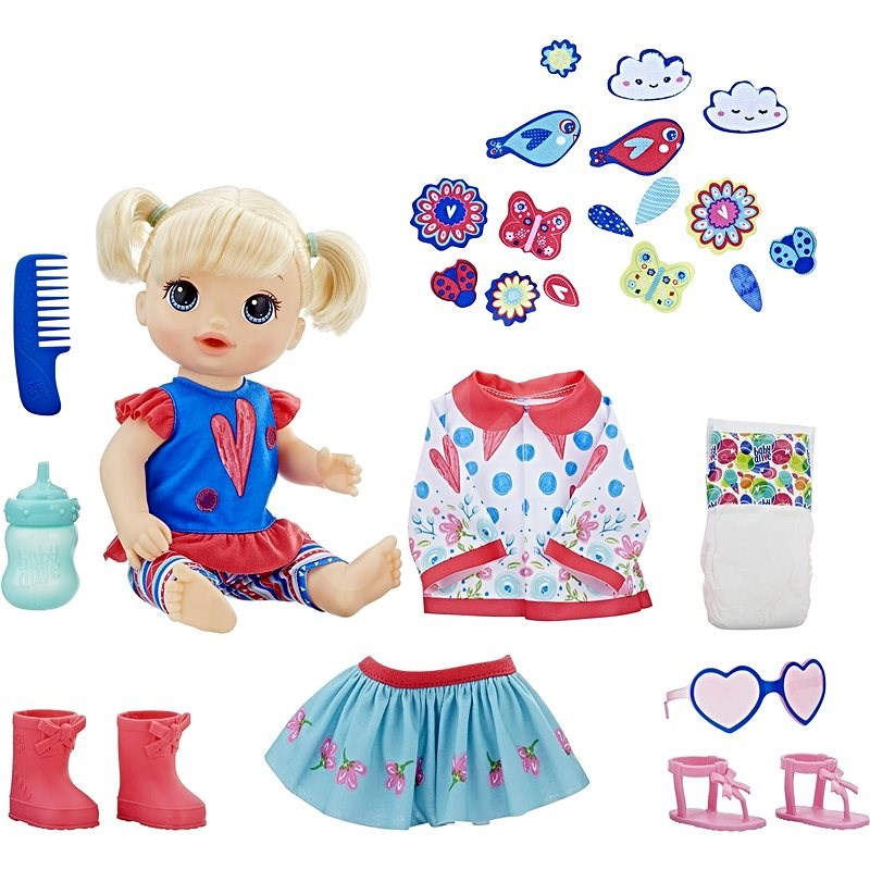 Baby Alive Doll So Many Styles Baby blue - Doll