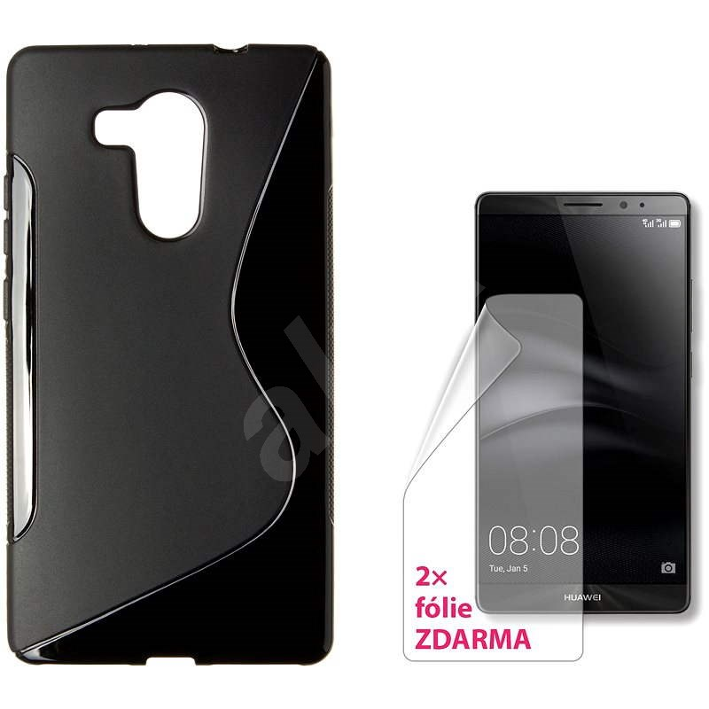 CONNECT IT S-Cover HUAWEI Mate 8, black - Protective Case