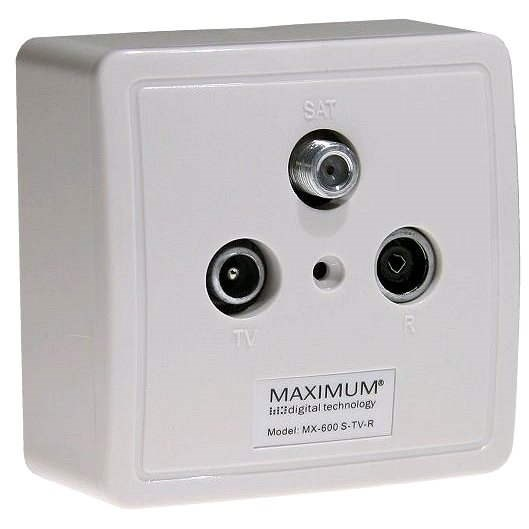 Maximum TV/R/SAT MX 600 Set - Socket