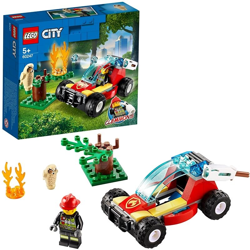 LEGO City Fire 60247 Forest Fire - LEGO Building Kit