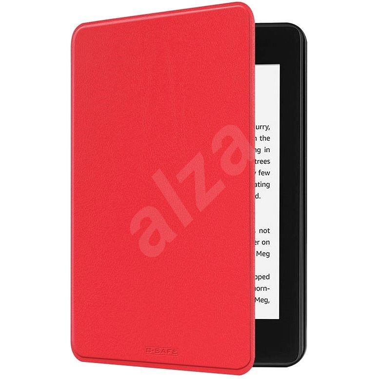 B-SAFE Lock 1267, for Amazon Kindle Paperwhite 4 (2018), red - E-book Reader Case