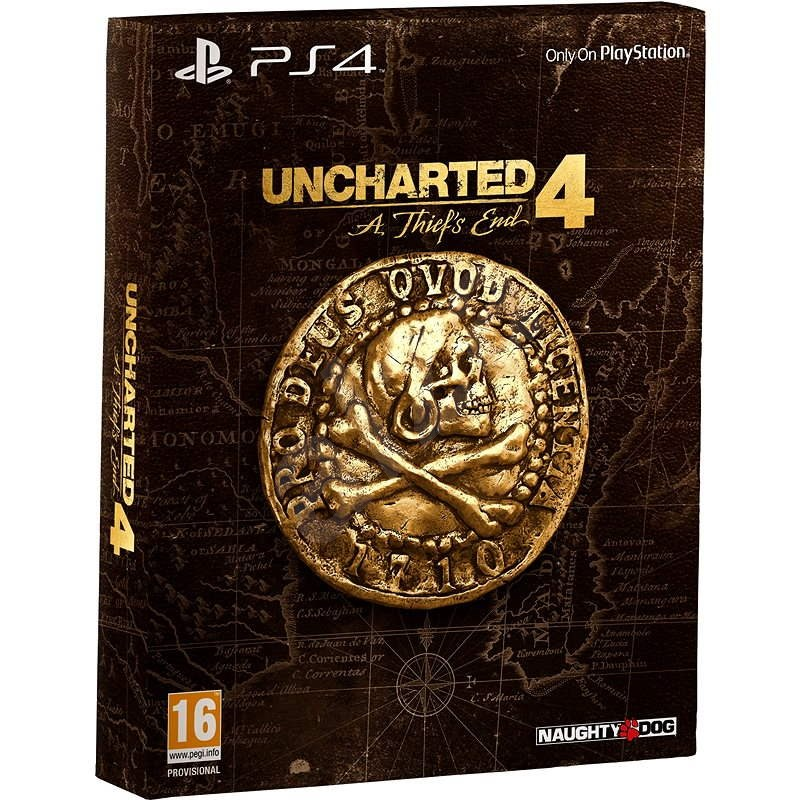 Uncharted 4: A Thief's End - Special Edition CZ  - PS4 - Console Game