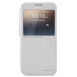 NILLKIN Sparkle S-View for Samsung G920 Galaxy S6 White - Mobile Phone Case