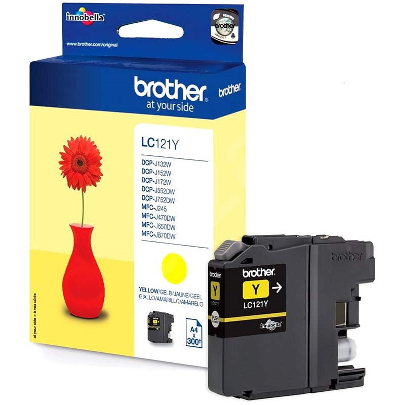 Brother LC-121Y Yellow - Cartridge