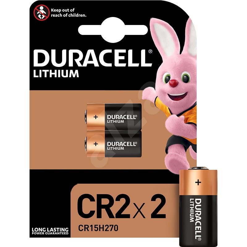 Duracell Ultra Photo CR2 (2 pack) - Disposable batteries