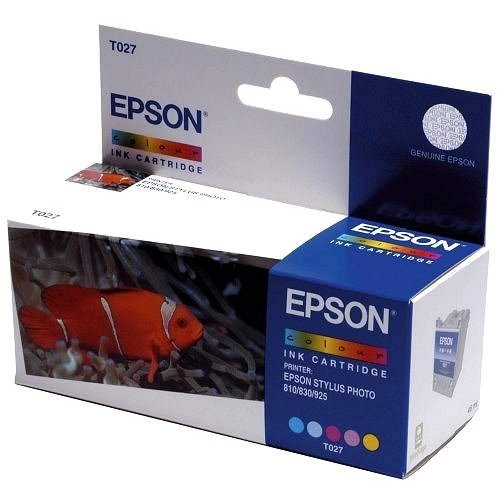 Epson T027 color - Cartridge