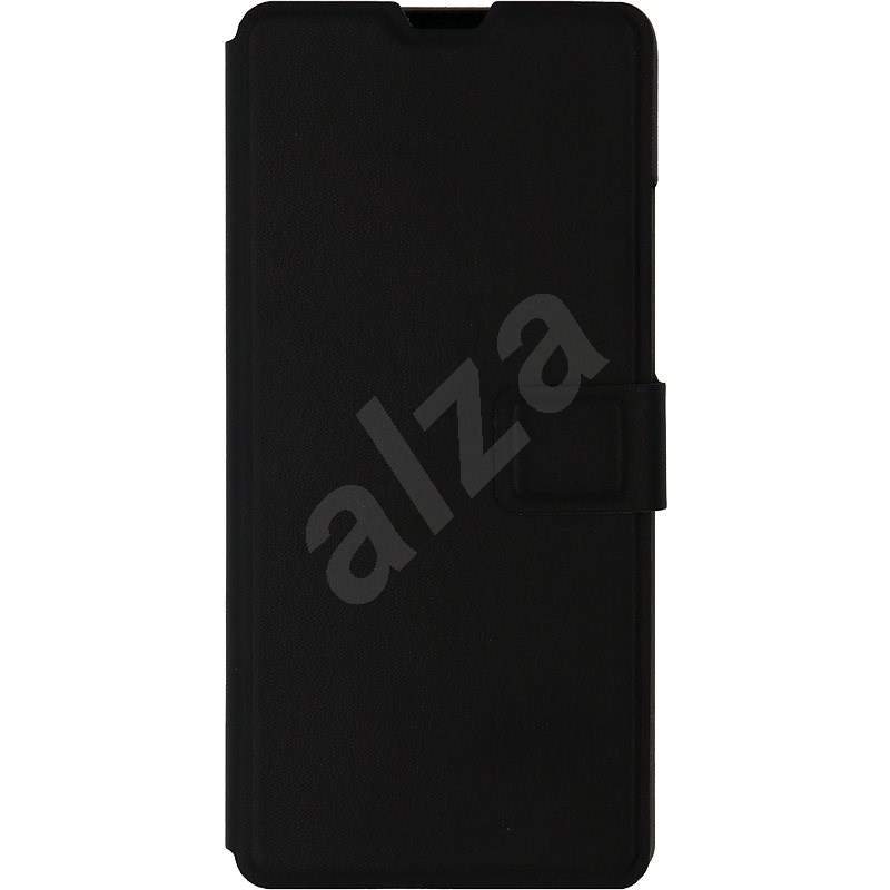 iWill Book PU Leather Case for Samsung Galaxy A51, Black - Mobile Phone Case