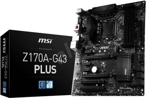 MSI Z170A-G43 PLUS - Motherboard