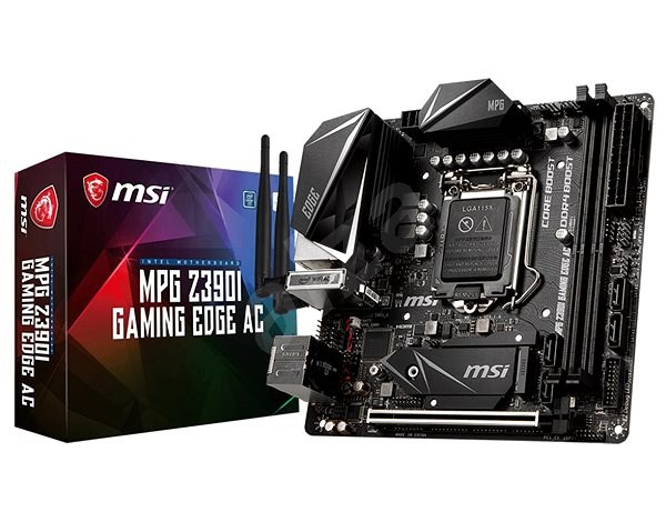 MSI MPG Z390I GAMING EDGE AC - Motherboard