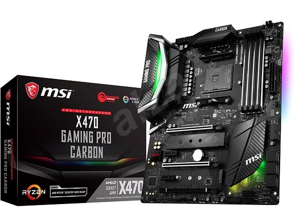 MSI X470 GAMING PRO CARBON - Motherboard