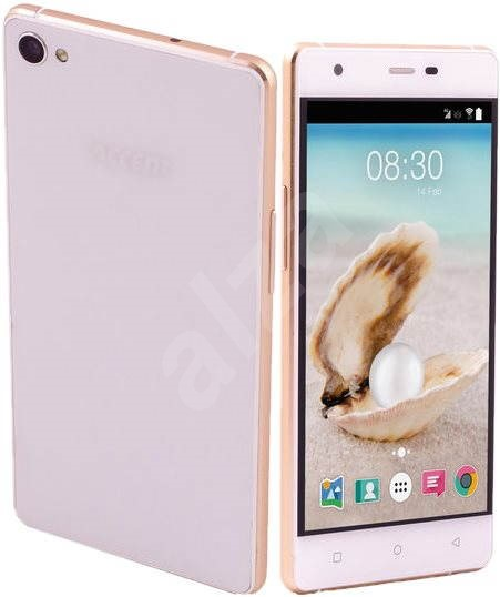 Accent Pearl white-silver - Mobile Phone